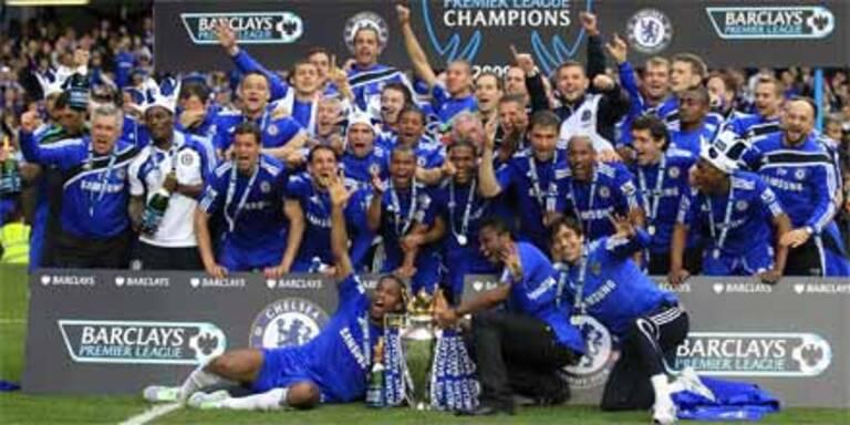 Chelsea mit 8:0-Torgala zum Titel