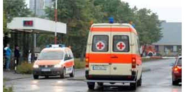 107 Verletzte bei Chemieunfall in Deutschland