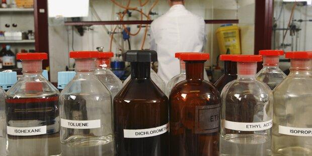Explosive Chemikalien in Lagerraum gefunden