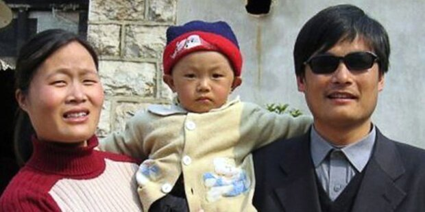 Blinder Bürgerrechtler Chen verlässt China
