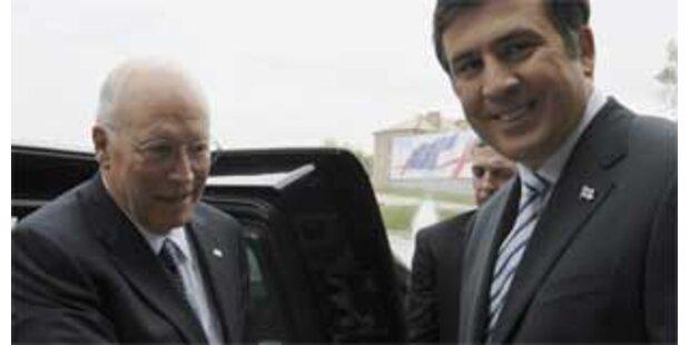 Cheney unterstützt Saakaschwili
