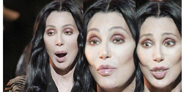 Cher - Grimassenshow für Stripfilm