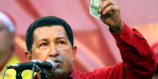 Toter Chavez erschien Arbeitern