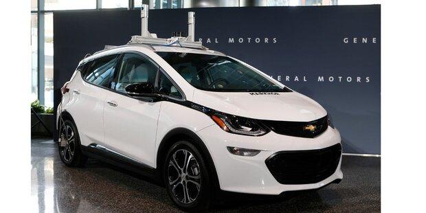 GM legt bei Roboter-Autos nach