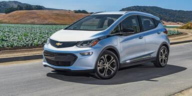 GM bringt leistbare E-Autos mit Top-Akku