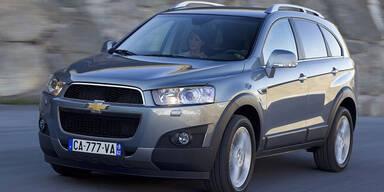 Chevrolet ruft 8.500 Autos in die Werkstätten