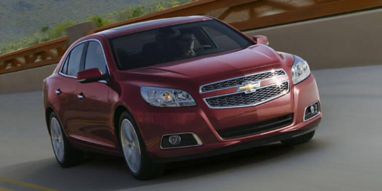 Chevrolet bringt den Malibu an den Start