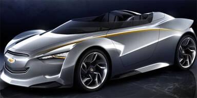 """Öko-Roadster """"Mi-Ray"""" von Chevrolet"""