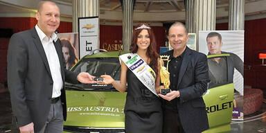 Neuer Chevrolet für die Miss Austria 2012