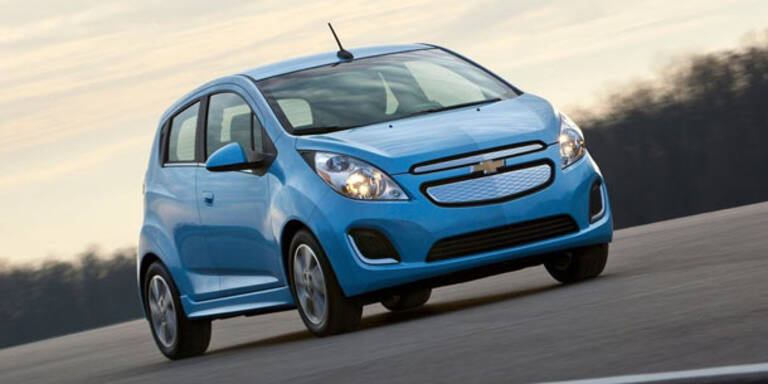 Chevrolet stellt den Spark EV vor