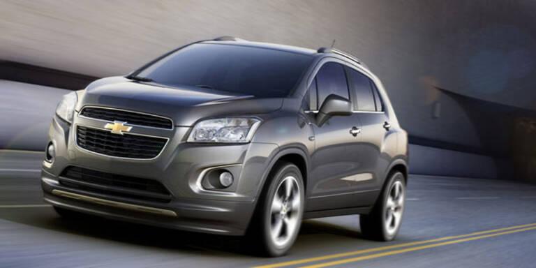 Chevrolet stellt Mini-SUV Trax vor