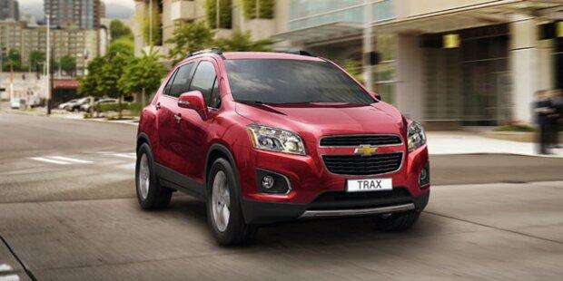 Chevrolet Trax: Neue Infos und Fotos