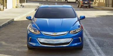 Chevrolet Volt fährt bald autonom
