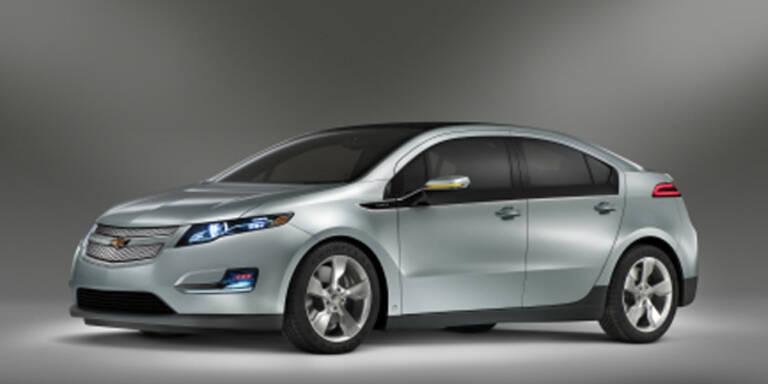 GM enthüllt neues Elektroauto Volt