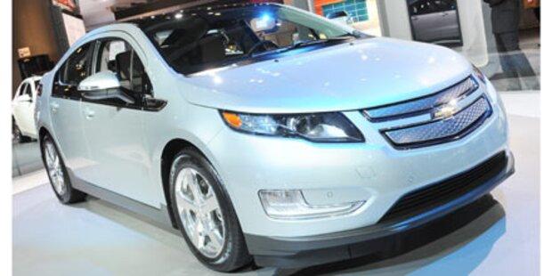Chevrolet Volt heimst Umweltpreis ein