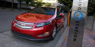 Chevrolet Volt brannte nach Crashtest