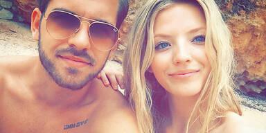Werbe-Girlie Chiara genießt Liebes-Urlaub