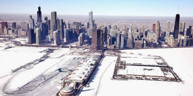 USA: Schnee schmilzt bei 25 Grad