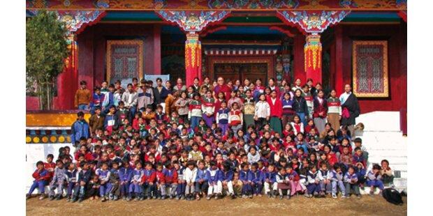 Philharmonia-Schrammeln für tibetische Kinder