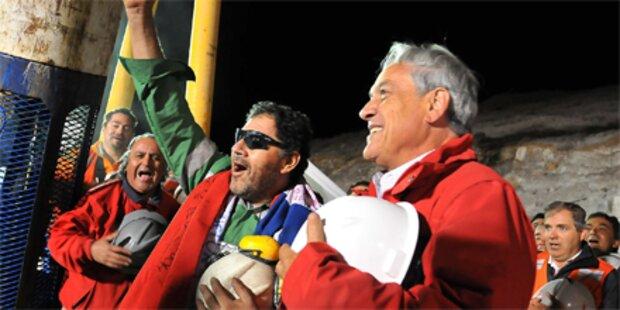 Jubel in Chile, das Wunder ist perfekt