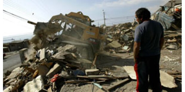 Erdbeben in Chile nimmt kein Ende