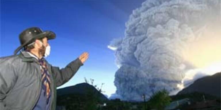 Chile liegt unter Asche nach Vulkanausbruch