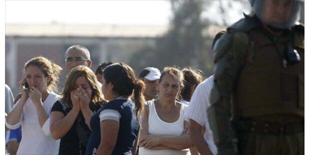 Zehn Tote bei Gefängnisbrand in Chile