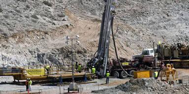 Minen-Drama in Chile: Diebe stehlen Bohrer