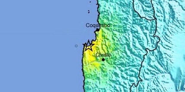 Erdbeben der Stärke 6,6 vor Chile