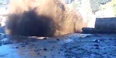 Chile: Rohrbruch erzeugt künstliche Flut