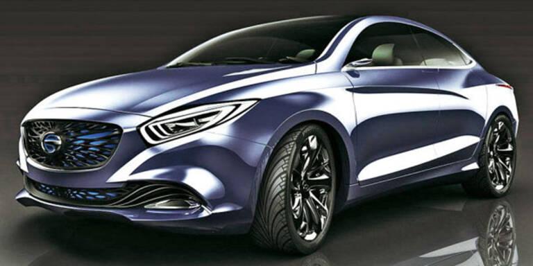 Chinesen kopieren den Mercedes CLA