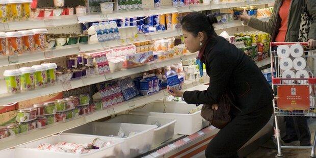 Chinesen sind scharf auf unsere Milch