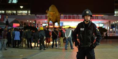 Kunming: Bahnhofs-Blutbad in China