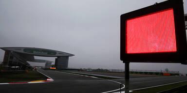 China-GP soll Sonntag durchgedrückt werden