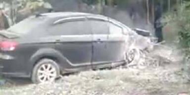 Auto rast in Fußgängergruppe: 7 Tote