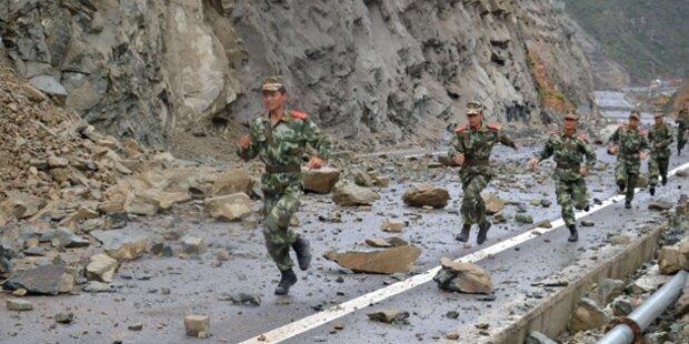Fünf Tote bei Erdbeben im Südwesten Chinas