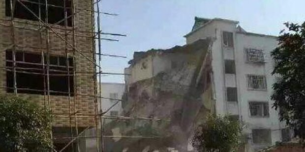 15 Bomben in China gezündet: Viele Tote