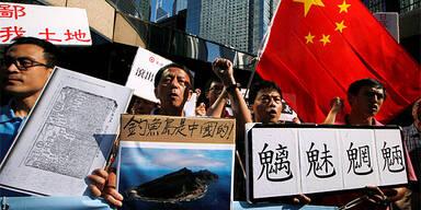 Inselstreit zwischen China und Japan eskaliert