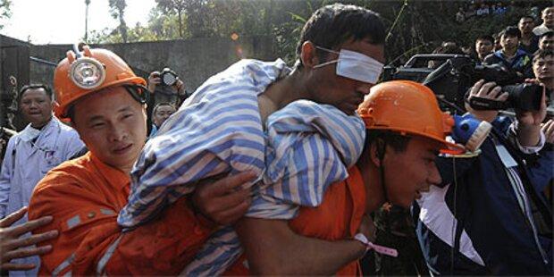 Alle 29 Bergleute in China gerettet