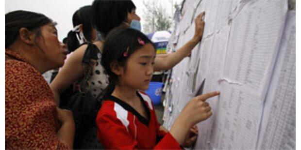 Erdbeben machte 5 Mio. Chinesen obdachlos