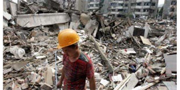 Wiederaufbaupläne laufen nach Erdbeben an