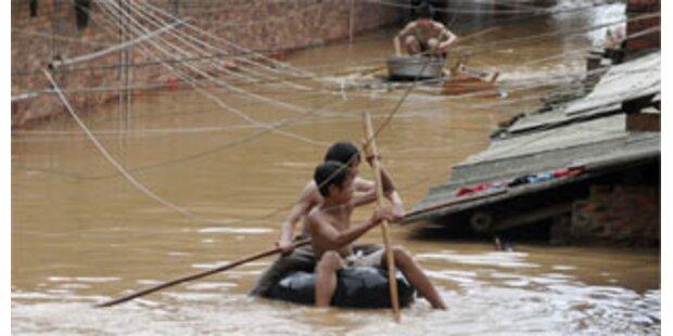 1,3 Mio. Chinesen fliehen vor dem Wasser