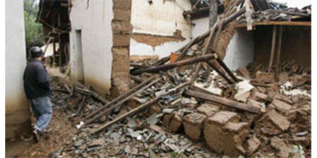 Mehr als 30 Tote nach Erdbeben in China