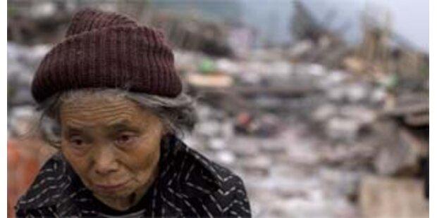 Starkes Nachbeben erschüttert China