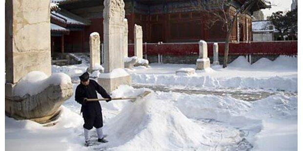 Eiseskälte - China rationiert den Strom