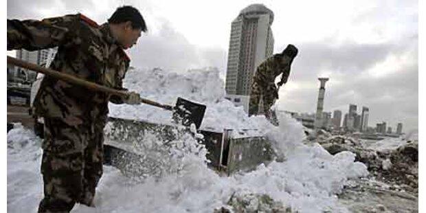 Heftigste Schneefälle seit 60 Jahren