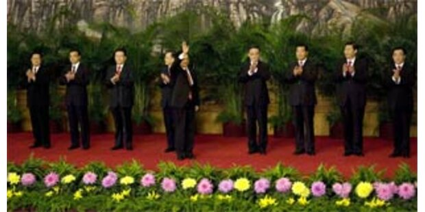 Hu Jintao als Chef der KP Chinas bestätigt