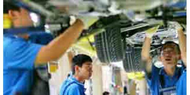 Autoabsatz in China steigt heuer um 25 Prozent