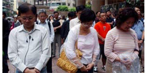 Staatstrauer für mehr als 50.000 Tote in China
