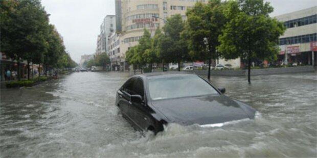 Unwetter-Katastrophe bedroht Millionen